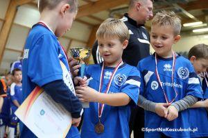 Turniej Somonino Cup dla rocznika 2010.  Gwardia Koszalin, AP Lew Lębork i AP Banino medalistami zawodów