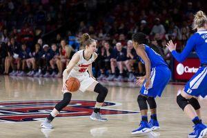 Aleksandra Makurat zadebiutowała w słynnej lidze NCAA w USA. Była najlepsza w zespole Flames Liberty