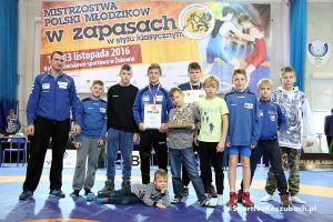 Mistrzostwa Polski Młodzików w Zapasach w Żukowie 2016 zakończone. Medale rozdane, cztery zostają w powiecie [ZDJĘCIA, WYNIKI]