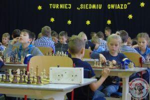 XIX Otwarty Turniej Szachowy Siedmiu Gwiazd w Kartuzach. 100 szachistów zagrało w SP nr 2