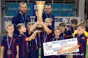 Kartuzy Futsal Cup 2016 w Kiełpinie zakończony. Pogoń Szczecin, AP Żuri Football Olsztyn i Arka Gdynia na podium