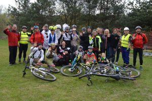 Otwarcie sezonu rowerowego 2016 w gminie Somonino. Wycieczka, zwiedzanie i ognisko