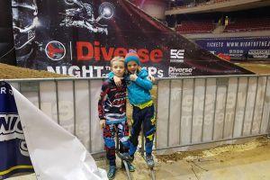 Jazda w Night of The Jumps i laury na gali podsumowującej MML - tak Dawid Zaremba i Maks Onasz zakończyli sezon motocrossowy