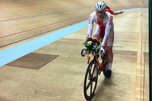 Szymon Sajnok wygrał wyścig punktowy w zawodach Track Cycling Challenge 2016 w Szwajcarii