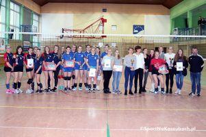 I LO w Kartuzach wygrało Mikołajkowy Turniej Piłki Siatkowej Kobiet w ZSZiO w Kartuzach