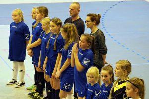Piłkarki Panter Sierakowice zagrały w VIII Mikołajkowym Turnieju Piłki Nożnej Kobiet w Malborku 2016