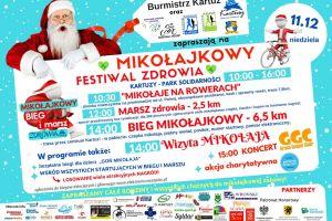 W niedzielę Mikołajkowy Festiwal Zdrowia w Kartuzach - zapowiedź, program utrudnienia w ruchu