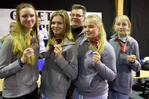 Cztery medale zawodniczek Dziesiątki Kartuzy na zawodach strzeleckich w Kołobrzegu