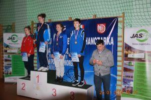 Kamila Lelek z brązowym medalem Młodzieżowych Mistrzostw Polski Kobietw Zapasach 2016