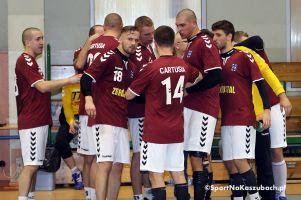 AZS UKW Bydgoszcz - Cartusia Kartuzy 19:22 (12:15). Siódme zwycięstwo na koniec pierwszej rundy