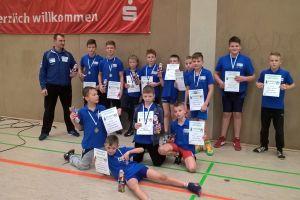 Zagraniczny sukces zapaśników Moreny Wegi Żukowo. Trzecie miejsce drużynowo i wiele medali na zawodach Weinachtturnier w Torgelow