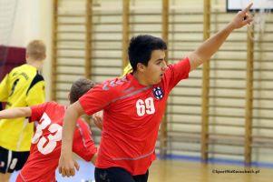 Tytani Wejherowo - Cartusia Kartuzy 30:32 (14:14) w lidze juniorów młodszych. 23 bramki Klaudiusza Rymarskiego w ostatnim meczu rundy