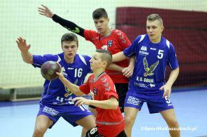 Cartusia wygrała w Słupsku w pierwszym rewanżu ligi juniorów młodszych. W klasyfikacji szkolenia zajęła trzecie miejsce w województwie