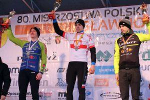 Tomasz Rzeszutek z Sierakowic ze srebrem przełajowych MP 2017 w Sławnie, Cartusia Kartuzy bez medalu