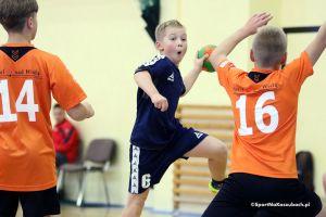 Najmłodsi szczypiorniści z Kartuz i Żukowa rozpoczęli turnieje finałowe o medale lig wojewódzkich