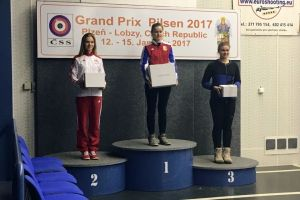 Diana Malotka - Trzebiatowska zajęła drugie miejsce w Grand Prix Pilzna 2017 i zdobyła kwalifikację do mistrzostw Europy