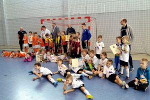Halowy turniej rocznika 2009 Jako Futsal Cup w Kiełpinie dla zespołu BKS Bydgoszcz
