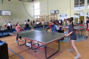Ponad 100 zawodników zagrało w I Powiatowym Turnieju Klasyfikacyjnym w Tenisie Stołowym Miechucinie. W sobotę zawody kadetów