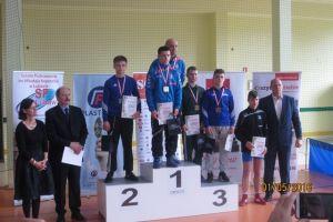 Aleksander Mielewczyk wygrał Ogólnopolską Olimpiadę Młodzieży w Zapasach 2016. Nikodem Drewa trzeci