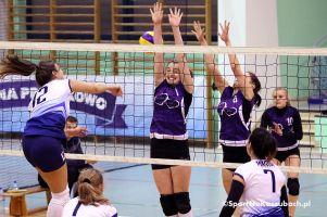Kampari Przodkowo pokonało InterMarine Team, czyli wielka niespodzianka w Przodkowskiej Lidze Piłki Siatkowej Kobiet