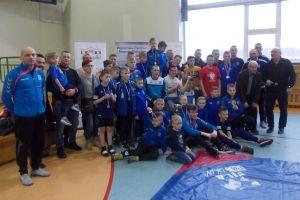Prawie 120 zapaśników walczyło w Kartuzach w Mistrzostwach Wybrzeża, Bałtyckiej Lidze Młodzików i Turniej o Puchar Burmistrza