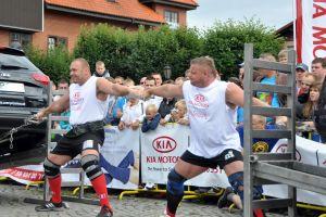 Puchar Polski Strongman w Kartuzach 2016. Maciej Hirsz i inni siłacze w siedmiu konkurencjach już 7 maja