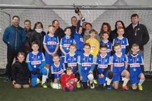 Radunia Stężyca rocznika 2007 wygrała halowy turniej Gdynia Cup