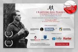 I Kartuski Bieg Pamięci Żołnierzy Wyklętych już 11 marca w Kiełpinie. Pokonają 1963 i 5000 metrów dla uczczenia niezłomnych