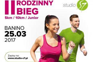Już 25 marca II Rodzinny Bieg Studio S7 w Baninie. Dystanse 5 km, 10 km i 100 m oraz atrakcyjne nagrody czekają na wszystkich chętnych
