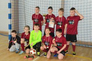 Zwycięstwo Sparty Gdańsk w Turnieju Piłki Nożnej Halowej Somonino Cup rocznika 2006