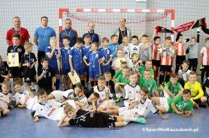 Jako Futsal Cup rocznika 2008 w Kiełpinie. Olimpik Kaliningrad, U-2 Bytów i Cartusia 1923 Kartuzy na podium