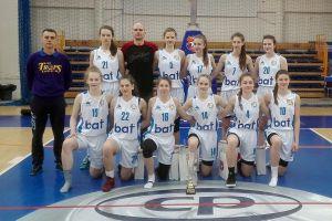 UKS Bat Kartuzy pokonał Widzew Łódź i awansował do półfinałów Mistrzostw Polski Kobiet U16 w Koszykówce