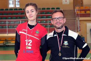 Paulina Reiter z Wieżycy na zgrupowaniu kadry narodowej. Zagra z reprezentacją Polski w turnieju kwalifikacyjnym do mistrzostw Europy U16