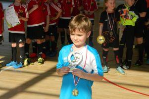 Somonino Cup rocznika 2010. GTS Wiślinka wygrał Turniej Piłki Nożnej Halowej rocznika 2010