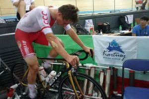 Szymon Sajnok ósmy w omnium podczas torowych mistrzostw świata w Hongkongu