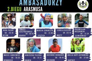 Bieg Arasmusa 2017 w Kiełpinie. Na liście zgłoszeń jest już 400 nazwisk, ambasadorzy zapraszają kolejnych biegaczy