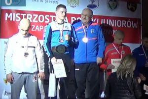 Krzysztof Niklas mistrzem Polski juniorów w zapasach. Wygrał wszystkie walki czempionatu w Radomiu w kat. 74 kg