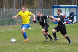 KS Kamienica Królewska - Start Mrzezino 3:2 (0:1). Wicelider w końcówce strzelił zwycięską bramkę ostatniej ekipie w tabeli