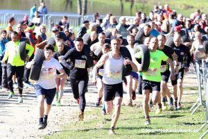 1. Hardcore Run w Żukowie - zdjęcia z pierwszego w regionie ekstremalnego biegu z przeszkodami