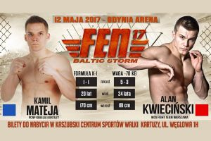 Kup w KCSW bilet na galę FEN Baltic Storm w Gdyni, dopinguj na żywo Kamila Mateję i najlepszych fighterów w kraju
