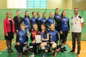 Stężyca zdobyła srebrny medal XVII Wojewódzkiej Gimnazjady Młodzieży Szkolnej w Piłce Siatkowej Dziewcząt