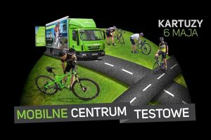 Mobilne centrum testowe Meridy 6 maja w Kartuzach. Możesz obejrzeć i bezpłatnie przejechać się na rowerach marzeń