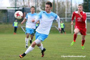 Gwardia Koszalin - GKS Przodkowo 1:3 (1:1). Fantastyczna końcówka dała zwycięstwo w meczu z liderem