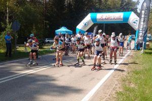 Klaudia Merchel z Cartusii Kartuzy wygrała zawody nartorolkowe II Ski Tourw Augustowie