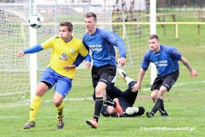Sporting Leźno - Korona Cedry Małe 5:0 (3:0). Zdecydowane zwycięstwo ekipy z gminy Żukowo nad sąsiadem w tabeli