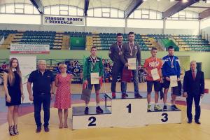 Krystian Wika z KKS-u mistrzem zrzeszenia LZS. Trzy medale i drugie miejsce drużynowe dla zawodników Cartusii