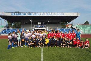 Piłkarki z Sierakowic grające w zespole Olimpico Malbork awansowały do finału mistrzostw Polski U-13