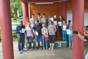 Cadety, omegi i opimisty popłynęły w Żeglarskim Pucharze UKS Lamelki na Złotej Górze