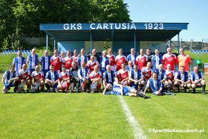 Cartusia Kartuzy - TSV 1897 Udenhausen 5:1 w towarzyskim meczu polskich i niemieckich oldbojów w Kartuzach