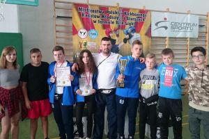 Trzy medale Rebelii na Mistrzostwach Polski Kadetów w Kick - boxing Kick - Light. Na pudle Armin Wilczewski, Nikola Zaborowska i Marcin Treder